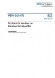 VDV-Schrift 822 Richtlinie für den Bau von Omnibus - Betriebshöfen [Print]