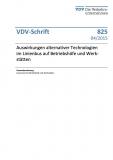 VDV-Schrift 825 Auswirkungen alternativer Technologien im Linienbus auf Betriebshöfen ...... [Print]