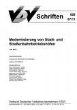 VDV-Schrift 828 Modernisierung von Stadt- und Straßenbahnbetriebshöfen [eBook]