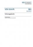 VDV-Schrift 861 Fahrzeugwäsche [Print]