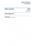 VDV-Schrift 861 Fahrzeugwäsche [eBook]
