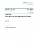 VDV-Schrif 886 Leitfaden Instandhaltung von Eisenbahnfahrzeugen [Print]