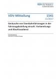 VDV-Mitteilung 1541 Geräusche von Eisenbahnfahrzeugen in der Fahrzeugabstellung [Print]