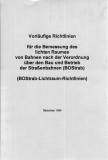VDV-Mitteilungen 1045 Vorläufige Richtlinien für die Bemessung des lichten Raumes (BoSTrab-Lichtraum-Richtlinie) [Print]