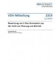 VDV-Mitteilung 2319 Bewertung von E-Bus-Konzepten aus der Sicht von Planung und Betrieb [eBook]