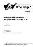 VDV-Mitteilung  6206 Reinigung von Haltestellen des schienengebundenen ÖPNV [Print]
