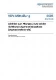 VDV-Mitteilung 6605 Leitlinien zum Pflanzenschutz bei den nichtbundeseigenen Eisenbahnen [Print]