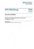 VDV-Mitteilung 7018N Security - Leitfaden [Print]