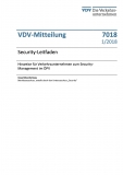 VDV-Mitteilung 7018N Security - Leitfaden [eBook]