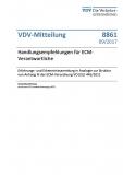 VDV-Mitteilung  8861 Handlungsempfehlungen für ECM - Verantwortliche [Print]