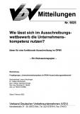 VDV-Mitteilung 9025 Wie lässt sich im Ausschreibungswettbewerb die Unternehmenskompetenz ... [Print]