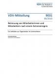 VDV-Mitteilung  9031 Betreuung von Mitarbeiterinnen und Mitarbeitern nach einem ... [Print]