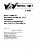VDV-Mitteilung 9708 Maßnahmen zur Einnahmesicherung Teil 2 [Print]