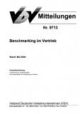 VDV-Mitteilung  9713 Benchmarking im Vertrieb [eBook]