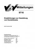 VDV-Mitteilung  9716 Empfehlung zur Gestaltung von Kombitickets [eBook]