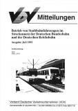 VDV-Mitteilung 1500 Betrieb von Straßenbahnfahrzeugen im Streckennetz ... [Print]
