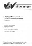 VDV-Mitteilung 1501 Grundlagen für den Einsatz von Niederflur - Stadtbahnfahrzeugen [Print]