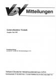 VDV-Mitteilung 4000 Lichtwellenleiter - Technik [Print]
