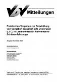 VDV-Mitteilung  1502 Praktische Vorgehen zur Entwicklung von Vergaben bezüglich LCC [Print]