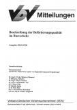 VDV-Mitteilung 10002 Beschreibung der Beförderungsqualität im Busverkehr [Print]