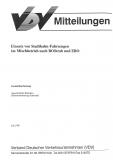 VDV-Mitteilung 6000 Einsatz von Stadtbahn - Fahrzeugen im Mischbetrieb nach BOStrab ... [Print]