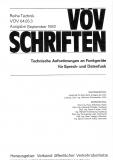 VÖV-Schrift 04.05.3 Technische Anforderungen an Funkgeräte für Sprech- und Datenfunk [Print]