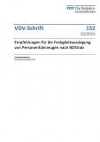 VDV-Schrift 152 Empfehlung für die Festigkeitsauslegung von Personenfahrzeugen nach BOStrab [Print]