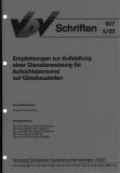 VDV-Schrift 607 Empfehlung zur Aufstellung einer Dienstanweisung für Aufsichtspersonal ...[Print]