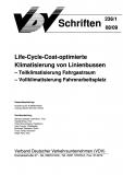 VDV-Schrift 236_1 Life-Cycle-Cost - optimierte Klimatisierung v. Linienbussen ...[Print]