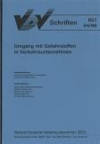 VDV-Schrift 851 Umgang mit Gefahrstoffen in Verkehrsunternehmen [Print]