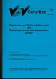 VDV-Schrift 154 Geräusche von Schienenfahrzeuge des ÖPNV [eBook]