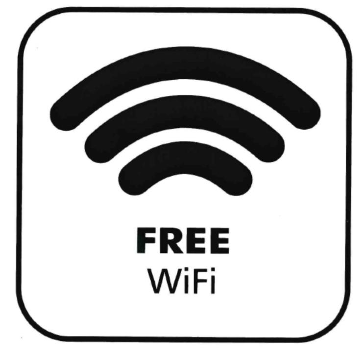 Piktogramm V20806: Free WIFI